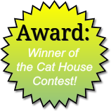 Award for the Cat House Contest